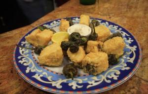 Fritos de bacalao rincón de marcelo Pravia